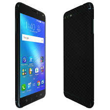 Zenfone 4 Max Asus Zenfone 4 Max Techskin Black Carbon Fiber Skin