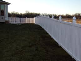 vinyl fencing in missouri vinyl fence installation