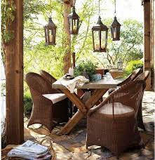 Rustic Patio Tables Incredible Outdoor Lanterns For Patio Furniture Design Inspiration