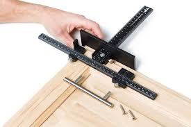 kitchen cabinet door hardware jig pin on tools