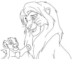 the lion king base lion and cub by akuma3007 on deviantart
