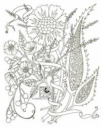 printable coloring pages for adults flowers flower coloring pages adults cooloring flower coloring for adults