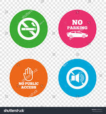 no smoking sign transparent background stop smoking no sound signs private stock vector 618803825