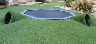 Best Backyard Trampolines Installing In Ground Trampoline