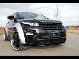 land rover evoque custom 2012 loder1899 range rover evoque horus silver front angle