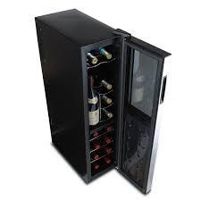 black friday wine fridge amazon com wine enthusiast 272 03 18 05 silent 18 bottle dual