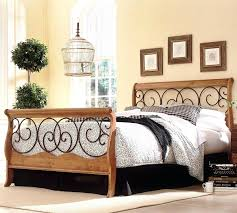 cream metal bed frame headboard metal headboard full size of cool vintage iron large