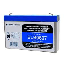 light and battery store lithonia lighting 6 volt 7 amp hours replacement battery for