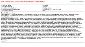 mechanical engineering technologist job title docs