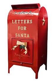 letters to santa mailbox laminated 24x36 inches poster santa mailbox christmas