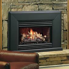 Gas Wood Burning Fireplace Insert by Kingsman Vfi25 Vented Gas Fireplace Insert Woodlanddirect Com