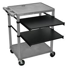 Desk Top Printer Stand by Under Desk Printer Stand Best Home Furniture Decoration