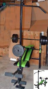 Competitor Workout Bench Competitor Ol U0026 39 Muscle Bench With 80 Lb Weights West