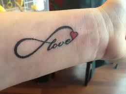 love infinity nice heart tattoo on wrist golfian com