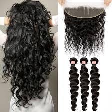 pics of loose wave hair brazilian virgin human loose wave hair extensions 3 bundles with 1