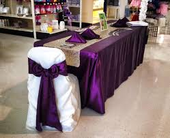 wedding tablecloth rentals 124 best wedding images on vases glass vase and