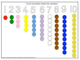 number concept worksheets mreichert kids worksheets