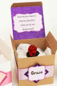 ring pop bridesmaid invite 7 ways to ask will you be my bridesmaid shaadi bazaar