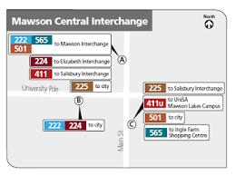 Metro Time Table Adelaide Metro Stop 17536