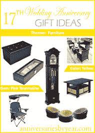 wedding anniversary ideas seventeenth anniversary 17th wedding anniversary gift ideas
