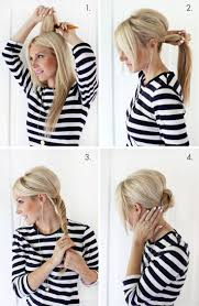 Hochsteckfrisurenen Selber Machen Glatte Haare by Die Besten 25 Einfache Hochsteckfrisuren Ideen Auf