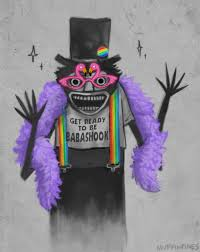 diy babadook pride costume and makeup tutorial halloween