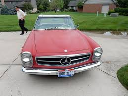 mercedes for sale by owner 1966 mercedes 230sl car by owner fletcher oh 45326