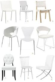 White Dining Chairs White Dining Room Chairs Decoration Eatwell101