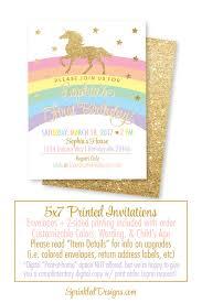 Where To Buy Birthday Invitation Cards Unicorn Birthday Invitation Cards Girls Magical Unicorn