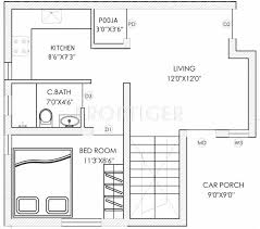ground floor plan 1300 sq ft 3 bhk floor plan image g9 spacious available for sale