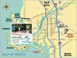 Bonita Springs Florida Map by Directions To Sanibel Island Sanibel Holiday