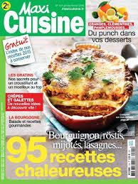 cuisine maxi magazine maxi cuisine maxi cuisine janvier 2016 magazine maxi