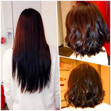 client makeover goodbye rapunzel length hair butterfly culture