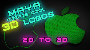 cool honda logos maya tutorial how to create a 3d logo from a 2d image youtube