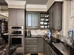 what color kitchen cabinets with black granite grey kitchen cabinets with black countertops grey painted