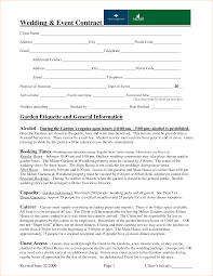 Agreement Templates Free Word S Fill Online Sample Wedding Planner Contract Wedding Planner