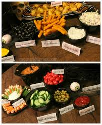 food ideas for halloween buffet adults