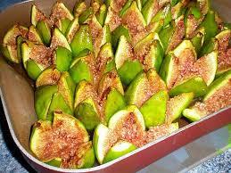 cuisiner les figues recette de figues blanches rôties au miel