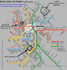 Rome Subway Map by Map Of Paris Subway System New Zone