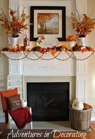 Fireplace Decorating 35 Fall Mantel Decorating Ideas Halloween Mantel Decorations
