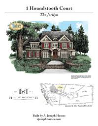 Betz Homes Jerilyn Marketing Brochure U2014 A Joseph Homes