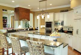 Leaded Glass Kitchen Cabinets Kitchen Style Great Country Kitchen Style With Classic Pendant
