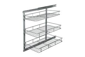 slide out wire baskets delectable 40 kitchen cabinet pull out astonishing furniture design with slide out wire basket fantastic furniture for kitchen decoration with e basket for 350mm cabinet loading zoom