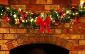 christmas garland with lights christmas garland with lights stock photo image 1631370