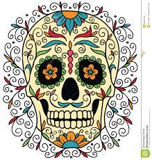 sugar skull stock vector illustration of illustration