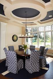 Decorating Ideas With Navy Blue Bedroom And Living Room Image - Navy and white dining room