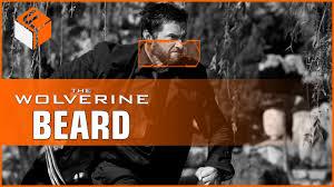 how to wolverine beard logan youtube