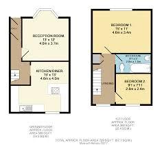 Maisonette Floor Plan 2 Bedroom Maisonette For Sale In Cotswold Road Windmill Hill