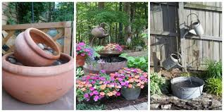 do it yourself water features creative of small water fountains for patios 15 diy outdoor