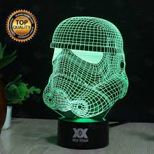 3d Lamps Amazon Huiyuan Lamp 3d Led For Desk Table Star War Clone Troopers Night